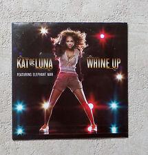 "CD AUDIO/ KAT DE LUNA FEAT ELEPHANT MAN ""WHINE UP"" CD SINGLE 2 TK NEUF NEW"