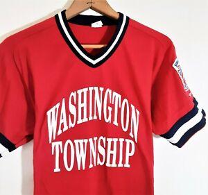 Vintage WILSON Baseball Athletic Jersey Shirt 70s 80s USA Made Washington Twp L