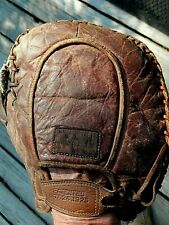 Vintage 1925 Leather Baseball Glove Right hand First Base