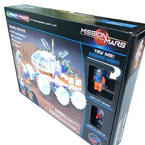 Mars Explorer 200 Piece 3 LED Light Up Block Space Rover Construction Set 18002