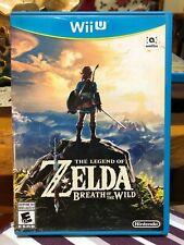 Nintendo Wii U Game Zelda: Breath of the Wild (Very Low Price!)