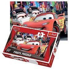 TREFL 60 PEZZI BAMBINI RAGAZZI Saetta MCqueen Disney Pixar MACCHINE Puzzle NUOVO
