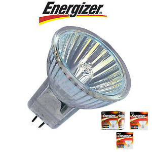 5x Energizer MR16 16W 28W 40W Halogen Spotlight GU5.3 Reflector Spot Lamp 12v