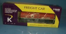 K-Line S Gauge Texaco Fire Chief Tank Car #K 511-015