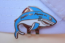 Shark Golf Ball Marker plus Bonus Magnetic Hat Clip