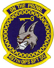 USAF 497th OPERATIONS SUPPORT SQUADRON PATCH
