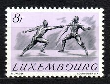 Luxembourg - 1952 Olympic games Helsinki Mi. 500 (key) MH