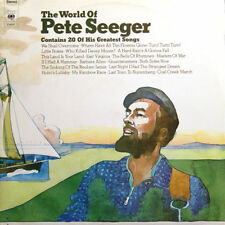 PETE SEEGER The World Of NED Press Double LP