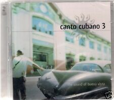2 CD Canto Cubano 3 `The Sound of Buena Vista` Neu/New/OVP