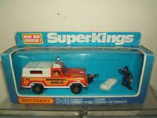 MATCHBOX SUPER KING MODEL K65 PLYMOUTH EMERGENCY RESCUE MIB