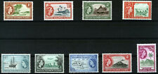 BRITISH SOLOMON ISLANDS 1963-64 DEFINITIVES SG103/111 MNH