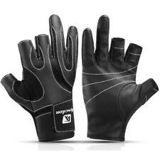 Outdoor Cut 3 Finger Half Fingerless Fishing Gloves Anti-slip Waterproof Gloves