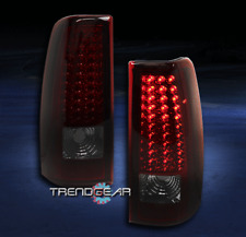 1999-2002 CHEVY SILVERADO/GMC SIERRA LED TAIL BRAKE REAR LIGHTS LAMP RED/SMOKE