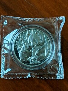 CHINA Palladium 1/2 oz Panda 100 Yuan 2005 with original case & COA