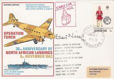 HB3agn Operation Torch - 30th Anniv North African Landings. signed Erhard Nippa