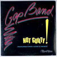 "Gap Band - Not guilty (1983) [SEALED] Vinyl 12"" Single • Knucklehead Funkin'"