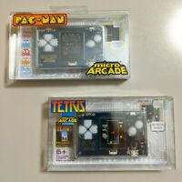 Micro Arcade Tetris and PacMan (Set of 2 consoles)