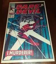 Foom MarvelMania Poster The Daredevil #44 wall art vintage 1970 uk mail order