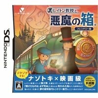 Used DS Friendly version of Professor Layton and the Diabolical Box