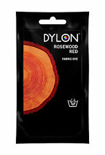 Rosewood Red DYLON Hand Wash Fabric Clothes Dye 50g Textile Permanent Colour