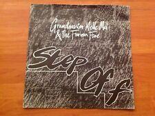 GRANDMASTER MELLE MEL & The Famous Five 1984 vinyle 45 tr/min 7-SINGLE-Step Off