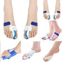 Unisex Toe Corrector Halux Valgus Splint Bunion Relief Straightener Foot Care