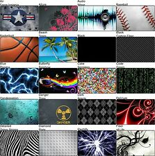 Choose Any 1 Vinyl Decal/Skin for HP G60 - G61 Laptop Lid - Free US Shipping!
