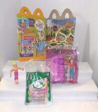 McD 2006 Polly Pocket Toy #4 Lila MP3 Player~#7 Polly~H M Box~2003 Polly #4 Lila