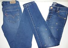 Lot of 4 Pair Girls Size 10 Skinny Jeans