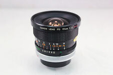 **Excellent Condition** Canon FD 17mm F/4 S.S.C. Manual Focus Lens w/ Caps, Case