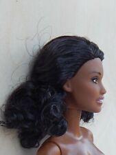 Mattel Barbie Puppe Fashionistas dunkle Haut nude NEU