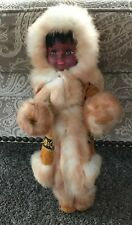 Vintage Doll From Alaska Approximately 18 Inches Tall