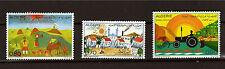 ALGERIE   3 timbres neufs B.D dessins réalisés par des enfants  52m200t6