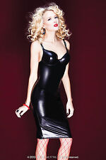 Faux Leather Clubwear Wiggle, Pencil Dresses for Women