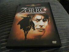 """DVD """"ZORRO"""" Alain DELON, Ottavia PICCOLO, Stanley BAKER"""