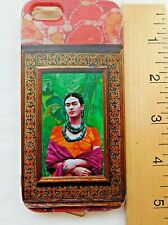 Apple 5S Frida Kahlo Soft Cell Phone Case  Authentic Familia Viva Como Piensas
