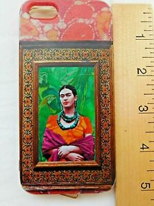 Soft Cell Phone Case Apple 5S Frida Kahlo  Authentic Familia Viva Como Piensas