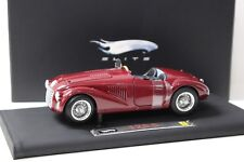 1:18 Hot Wheels Super elite ferrari 125 s Dark Red sp New en Premium-modelcars