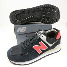 New Balance 574 574v2 Men's Running Shoes Black Pomelo Red Pink ML574SMP NB