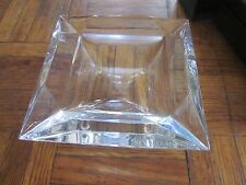 BVLGARI Crystal Cigar Ashtray by ROSENTHAL CLASSIC New in Box #47514