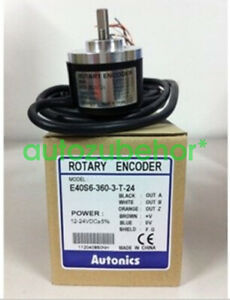 1pcs Brand NEW AUTONICS encoder E40S6-600-3-T-24 E40S66003T24