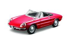 Alfa Romeo Spieder 1966 rot Maßstab 1:32 von Bburago