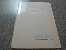 AUTHENTIC MARTIN BAKER HIGH SPEED TEST TRACK EJECTION SEAT INFORMATION PACKET