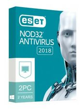 Eset NOD32 Antivirus 2018 V11 / 2 PC 2 YEARS / EMAIL DELIVERY (ACTIVATION CODE)