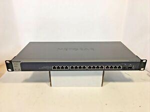 NETGEAR ProSafe (XS716T100NES) 16-Port Rack-Mountable Ethernet Switch