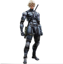 Metal Gear Solid 2 Square Enix Play Arts Kai Raiden 11in Action Figure Brand New