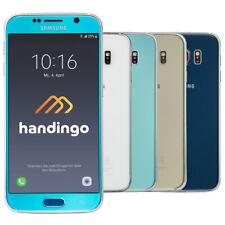 Samsung Galaxy S6 SM-G920F 32GB 64GB 128GB Smartphone Schwarz Weiss Gold Blau
