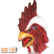 Chicken Mask Adults Funny Comedy Fancy Dress Costume Ideas Animal Smiffys 44569