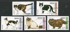 Guinea 1996 - Cat Breeds (5) CTO