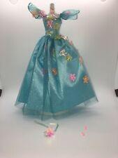 BARBIE BRIGHT BLUE SONGBIRD GOWN DRESS #1768